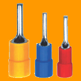 Copper Pin Type Terminal Ends (Insulated with Metal Reinforced)