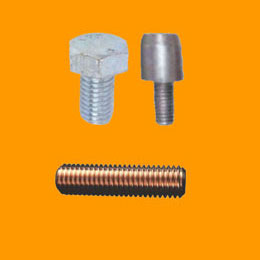Hot Dip Galvanised Steel Earth Rod, Driving Bolt & Internal Coupling Dowel