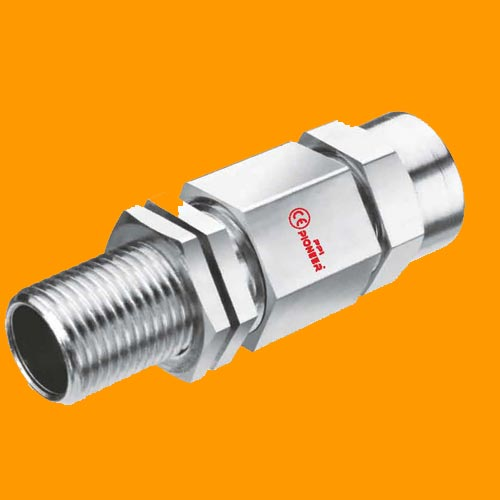 Double Compression Cable Gland Flameproof Type For